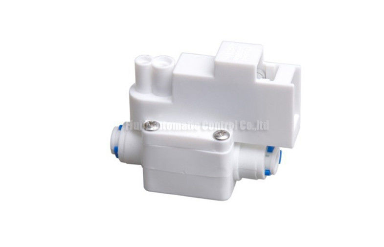 "Engineering Plastic Pressure Switches Fast Push-In Tube Size Inch 1/4"" 40psi Pressure For RO Water Purification System"