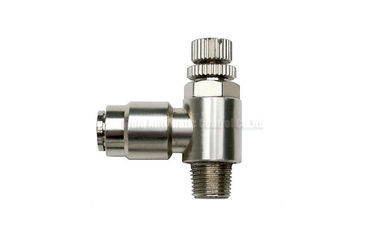 Cina 4mm - 16mm Brass One Touch Push-in Fitting Slot Type , Pneumatic Tube Fittings Distributor
