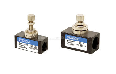 "Cina Mini Pneumatic Flow Control Valve G3/8"" For Flow and Speed Control pabrik"