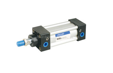 Cina 32mm~200mm  ISO6431 Pneumatic Air Cylinder SI-40-50-PPV-A With Magnet and Air cushion pabrik