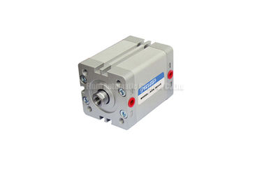 Cina ADN ISO21287 Standard Double Acting Compact Air Cylinder With Magnet And Rubber Buffer pabrik