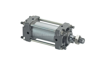 Cina CA1 Double Acting Pneumatic Air Cylinder 40mm - 100mm , Tie Rod Gas Cylinder pabrik