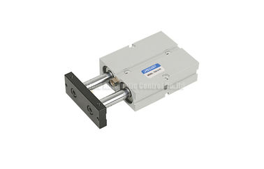 Cina TN Double Shaft Pneumatic Gas Cylinder 10mm - 32mm For Pneumatic Automation System Distributor