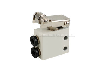 Cina Two Position Three Way Mechanical Control Valve For Pneumatic Automation System pabrik
