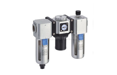Cina Filter and Regulator and Lubricator Three Combination Group Air Source Treatment Unit With Gauge Embeded Distributor