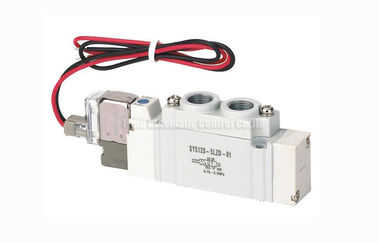 Cina SY5120 G1/4 Two Position Five Way Solenoid Valve SMC Equivalent Distributor