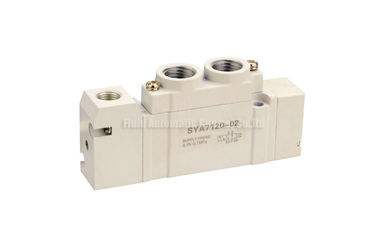 "Cina SYA Pneumatic Air Control Valve 5/2 G1/4"" For Directional Control pabrik"